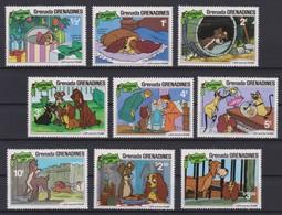 2266    WALT DISNEY - GRENADA  GRENADINES  ( Christmas 1981 )   Lady And The Tramp . - Disney