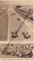 AUTOMOBILE : PHOTO, GRAND PRIX A.C.F., REIMS, HAWTHORN, FANGIO, GONZALES, FERRARI, MASERATI, COUPURE REVUE (1953) - Automobile - F1