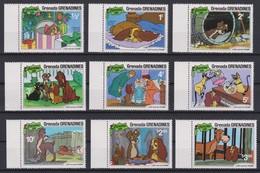 2267   WALT DISNEY - GRENADA  GRENADINES  ( Christmas 1981 )   Lady And The Tramp . - Disney