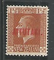 1 1/2p Orange - Aitutaki