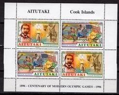ATLANTA 1996 GAMES   - AITUTAKI    O618 - Summer 1996: Atlanta