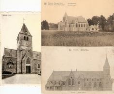 Herzele : De Kerk  --- 3 Kaarten - Herzele