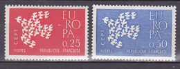 N°1309 Er 1310 Europa 1961: Timbres Neuf Sans Charnière - Unused Stamps