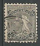 Victoria 1/2p Noir - Used Stamps