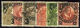 Chile. Sc #62-67. Used Set. - Chile
