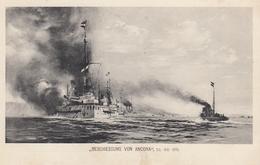 Pola - Kuk Kriegsmarine , Beschiessung Von Ancona 1915 - Croatia
