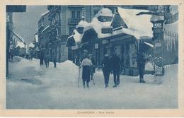 Haute Savoie . Chamonix . Rue Vallot . - Chamonix-Mont-Blanc