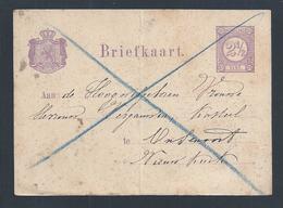 Leeuw.Lion Symbol Dutch Crown.Postal Stationery Holland.Lion Symbol Der Niederländischen Krone.Ganzsachen Holland.Löwe - Periode 1891-1948 (Wilhelmina)
