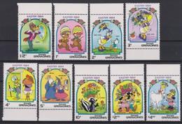 2272   WALT DISNEY - GRENADA  GRENADINES  ( Easter 1984 )  Caps Of Easter With The Characters Of Walt Disney . - Disney