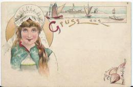 Gruss Aus - Coquillage - Schelp - Zeilboot - Voiliers - Souvenir De...