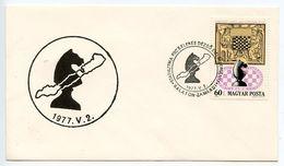 Hungary 1977 Balat-Zamárdi Chess Tournament Cover - Chess