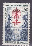 N°1338 Eradication Du Paludisme: Timbre Neuf Sans Charnière - France