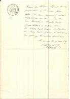 MONACO . RECU D'HONORAIRES FAMILLE ROVELLO . SUR PAPIER FISCAL - Factures & Documents Commerciaux