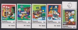 2273   WALT DISNEY - GRENADA  GRENADINES  ( Christmas 1984 )  Christmas And 50 Th Anniversary Of Donald Duck . - Disney
