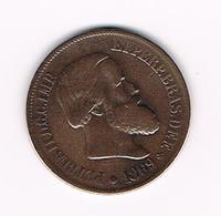 &-   BRAZILIE  20 REIS 1869 PETER  II - Brésil