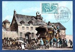 Carte Premier Jour / Relais De Poste / 24-3-73 / Paris - Cartoline Maximum
