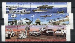 RC 9610 NATIONS UNIES 2010 TRANSPORT DE L' ONU AVION AUTOMOBILE HELICOPTERE CAMION NEUF ** TB - UNO