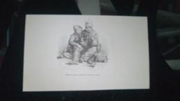 Affiche (dessin)  - Repas De Petits Savoyards  (dessin De Cousin) - Manifesti