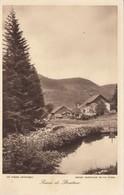 Cp , 88 , BAN-sur-MEURTHE-CLEFCY , Scierie De Straiture - France