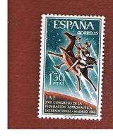 SPAGNA (SPAIN) - SG 1809   -   1966 ASTRONAUTICS FEDERATION CONGRESS     -   (MINT)** - 1931-Oggi: 2. Rep. - ... Juan Carlos I