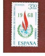SPAGNA (SPAIN) - SG 1938   -   1968 HUMAN RIGHTS YEAR     -   (MINT)** - 1931-Oggi: 2. Rep. - ... Juan Carlos I