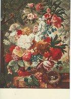 Painting - Joseph Nigg.: Nest-Flowers-Butterflies. # 07759 - Paintings