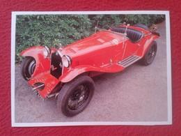 POSTAL POST CARD CARTE POSTALE COCHE DE LUJO CAR CARS COCHES AUTO AUTOMÓVIL ALFA ROMEO 8C2300 1931 ITALIA VER FOTO Y DES - Other