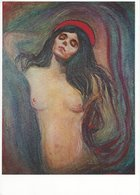 Painting - Edvard Munch - Madonna.  # 07760 - Paintings