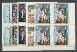 187 Cuba ** MNH N° 1086/1090 Tableau (tableaux Painting) BLOC 4 COTE 40 EUROS - Cuba
