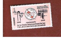 SPAGNA (SPAIN) - SG 1731   -   1965 U.I.T.  -   (MINT)** - 1931-Oggi: 2. Rep. - ... Juan Carlos I