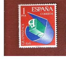 SPAGNA (SPAIN) - SG 1769   -   1966  GRAPHIC ARTS EXN  -   (MINT)** - 1931-Oggi: 2. Rep. - ... Juan Carlos I