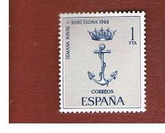 SPAGNA (SPAIN) - SG 1797   -   1966  NAVAL WEEK  -   (MINT)** - 1931-Oggi: 2. Rep. - ... Juan Carlos I