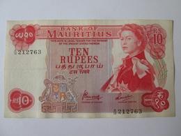Mauritius 10 Rupees 1967 Banknote - Mauritius
