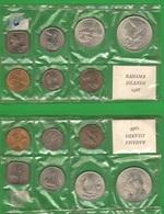 Serie Monete Delle Bahamas Set 1966 - Bahamas