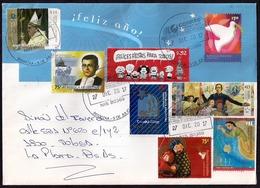 Argentina - Lettre - Nouvel An - Lettres & Documents