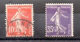 Serie De Francia Nº Yvert 135/36 (o) - France