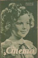 MAGAZINE ,,CINEMA'' 1936, 32PAGINI ROMANIA COVER1 SHIRLEY TEMPLE COVER2 CHARLES BOYER AND LORETTA YOUNG USED - Livres, BD, Revues