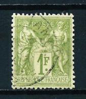 Francia  Nº Yvert  82 (tipo-II)  USADO - Francia