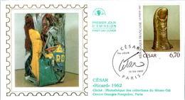 LETTRE GRAND FORMAT (1ER JOUR) - FDC - CESAR - 13 SEPTEMBRE 1997 A PARIS - CÔTE : 5 EUROS - FDC