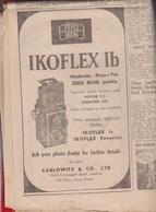 ADVERTISING PHOTO IKOFLEX ZEISS IKON NEWSPAPER SOUTH CHINA MORNING POST HONGKONG PAG 8-9 AND 13-14 - Livres, BD, Revues