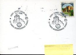 35644  Italia, Special Postmark 2000 Casole D'elsa, Internazionale Chianti, Castle Burg  Schloss Chateau - Other