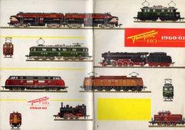 Catalogue FLEISCHMANN 1960-61 Trains HO 1/87 - Machines à Vapeur - French