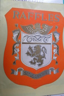 Singapore Hotel Raffles - Hotel Labels