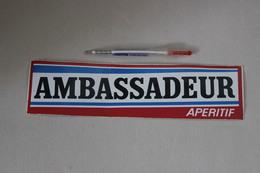 AMBASSADEUR  APERITIF - Autocollants