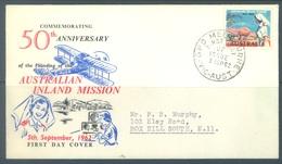AUSTRALIA - 5.09.1962 - FDC - AUSTRALIAN INLAND MISSION   - Lot 17392 - FDC