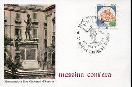 35646 Italia, Special Postmark 1985 Messina, John Of Austria, Son Of Holy Roman Emperor Charles V. Battaglia Lepanto - Otros