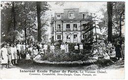 Cpa - Internat Ecole Pigier De Paris, La Varenne - Commerce, Comptabilité, Sténo-Dactylo, Coupe, Français, Etc - - Frankrijk