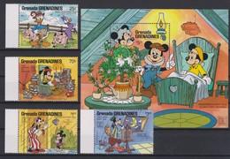 2281 WALT DISNEY - GRENADA  GRENADINES  ( Hafnia ' 87 - Copenhague ) Illustrations Of Tales Andersen . - Disney
