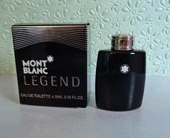 Miniature LEGEND De MONT BLANC Eau De Toilette 4,5 Ml - Miniatures Men's Fragrances (in Box)