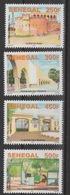 Sénégal 2017 Mi. ? Les Villes Cities Städte Fort De Podor Promenade Thiessois Gare Railway Station Niokolo 4 Val. ** - Senegal (1960-...)